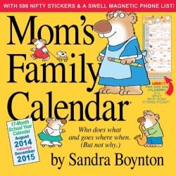 Mom's Family 17-Month 2015 Calendar (Calendar)