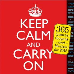 Keep Calm and Carry on 2015 Calendar (Calendar)