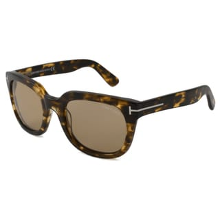 Tom Ford Men's TF0198 Campbell Rectangular Sunglasses