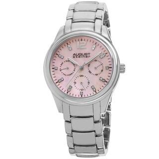 August Steiner Women's Quartz Multifunction Elegant Bracelet Watch