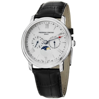 Frederique Constant Men's FC-270SW4P6 FC-270SW4P6 'Business Time' White Dial Chrono Watch