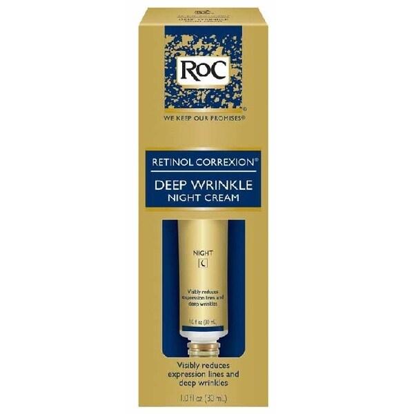 RoC Retinol Correxion 1-ounce Deep Wrinkle Night Cream