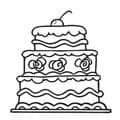 Cake Vinyl Wall Decal