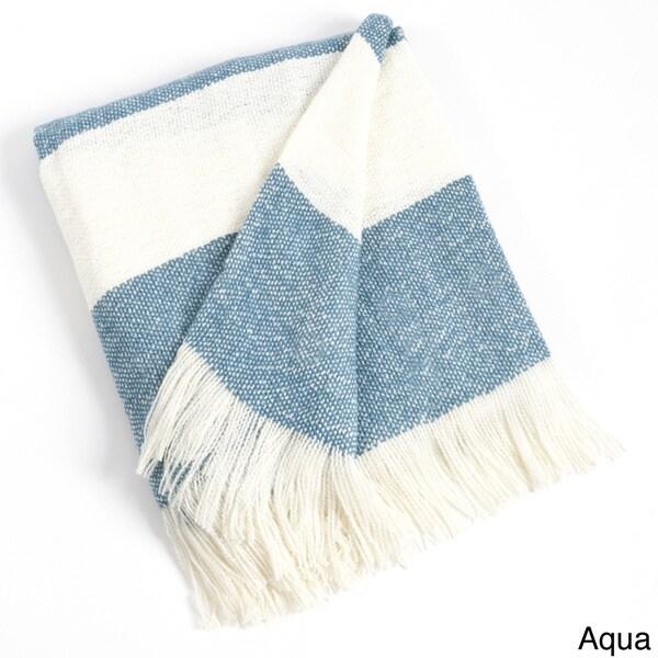 Striped Design Throw Blanket