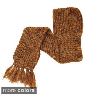 Soft Mohair Wool Hooded Winter Scarf (Nepal)