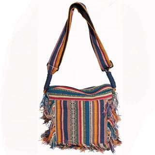 Boho Chic Sling Fringe Shoulder Bag (India)