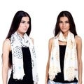 Boho-chic Elephant Summer Scarf (India)
