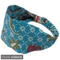 Women's Printed Abbey's Summer Bali Yoga Headband (Indonesia)