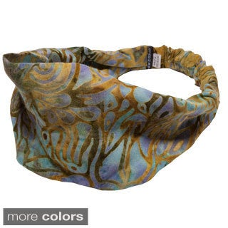 Women's Printed Tina's Summer Bali Yoga Headband (Indonesia)