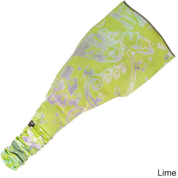 Women's Printed Summer Bali Yoga Headband (Indonesia)