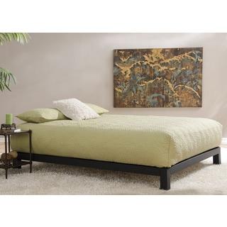 Aura Matte Black Platform Bed