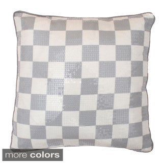 Spencer Small Checkerboard Throw Pillow