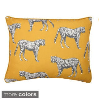 Cheetah Reversible Throw Pillow