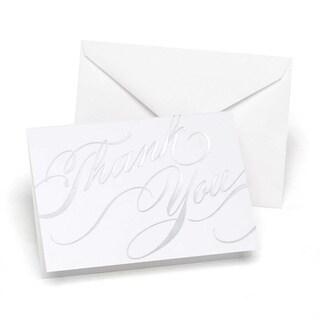 Hortense B. Hewitt Silver Unending Gradtitude Thank You Cards