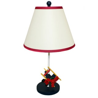 Casa Cortes 21-inch 1-light Kids Airplane Table Lamp