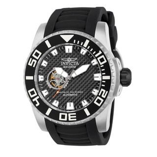 Invicta Men's 14680 Black Pro Diver Automatic Skeleton Watch