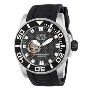 Invicta Men's 14680 Black Pro Diver Automatic Skeleton Watch