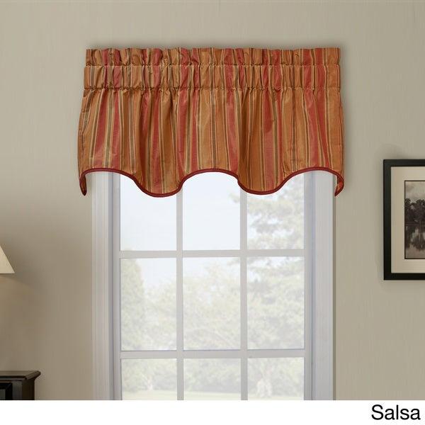 Berkeley Stripe Wave Window Valance