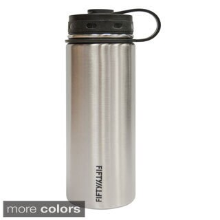 Fifty/Fifty 18-ounce Double Wall Vacuum Insulated Stainless Steel Water Bottle