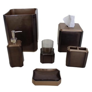 Sherry Kline Essex Ceramic Bath Accessory 6-piece Set
