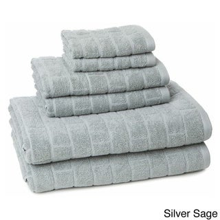 Vicki Payne Tiles Cotton 6-piece Towel Set