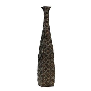 Elements Metal Bronze Ogee Vase