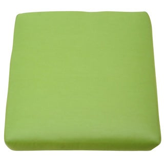 Sunbrella '54011-0000' Ginkgo Canvas Outdoor Ottoman Cuhsion