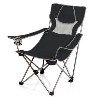 Campsite Beverage Pocket Armrest Folding Chair