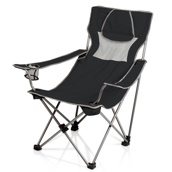 Campsite Beverage Pocket Armrest Folding Chair