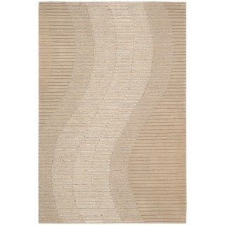 Joseph Abboud Mulholland Sand Area Rug by Nourison (3'9 x 5'9)