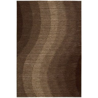 Mulholland Chocolate/ Brown Area Rug (5' x 7'6)