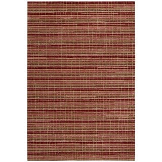 Mulholland Red/ Ruby Area Rug (3'9 x 5'9)