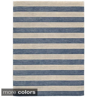 Nourison Barclay Butera Ripple Stripe Rug (5'6 x 7'5)