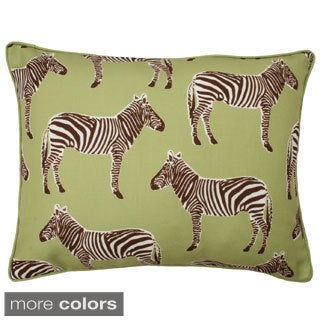 Zebra Reversible Throw Pillow