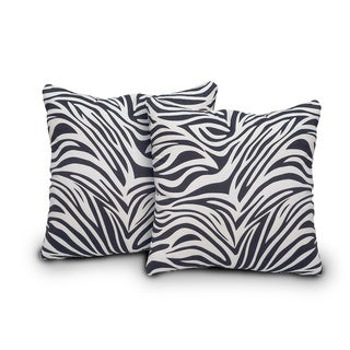 Innovex Zebra Bella Pillows (Set of 2)