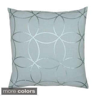 Letty Sequin Down Filled Throw Pillow