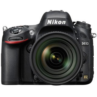 Nikon D610 24.3MP Digital SLR Camera with 28-300mm Lens