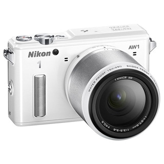 Nikon White 1 AW1 Mirrorless Digital Camera and 11-27.5 mm Lens
