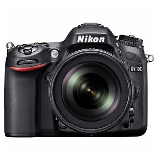 Nikon D7100 24.7MP Digital SLR Camera with 18-140mm and 55-300mm Lenses