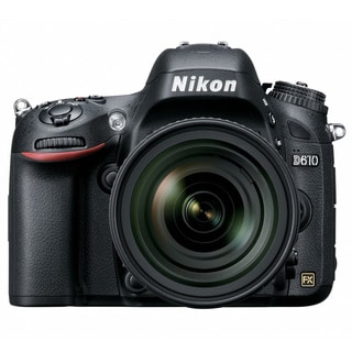 Nikon D610 24.3MP Digital SLR Camera with 24-85mm and 70-300mm Lenses