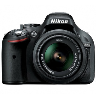 Nikon D5200 24.1MP Digital SLR Camera with 18-140mm Lens