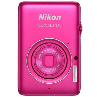Nikon COOLPIX S02 13.2MP Pink Digital Camera
