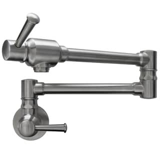 Ticor Brushed Nickel Pot Filler Faucet