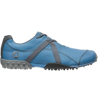 Footjoy Men's M:Project Blue/ Grey Golf Shoes