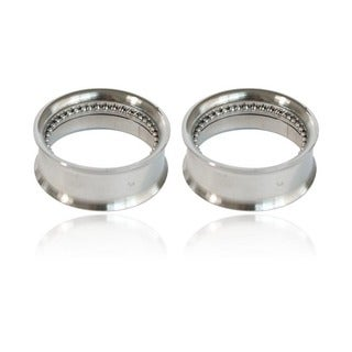 Supreme Jewelry Internally Threaded Surgical Steel Plugs (Pair of 2)