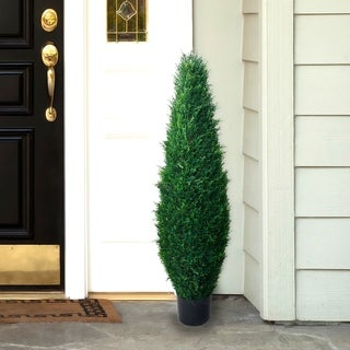 Romano 41-inch Indoor/ Outdoor UV Resistant Cypress Tree