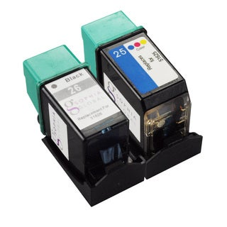 Sophia Global Black/ Color HP 26 and HP 25 Ink Cartridge Replacement (Remanufactured)