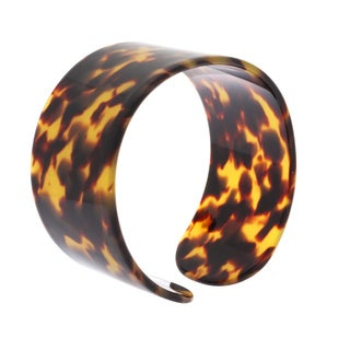 Nexte Jewelry Tortoise Shell Color Bangle Bracelet
