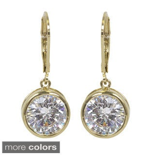 NEXTE Jewelry Extra Large High Beam Solitaire Dangle Earrings