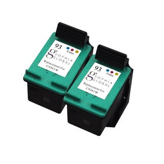 Sophia Global Remanufactured HP 93 Color Ink Cartridge Replacements (Set of 2)